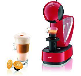 Espresso Krups KP170531 Infinissima červený - Krups