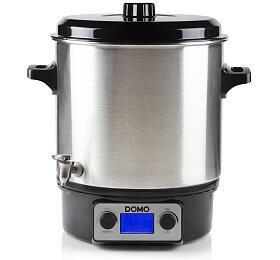 Zavařovací hrnec nerez s LCD - nerez kohout - DOMO DO42326PC - Domo