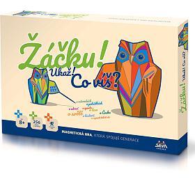 Žáčku! Ukaž!, co víš? společenská magnetická hra v krabici 42x29x6cm 6+ - Beneš a Lát