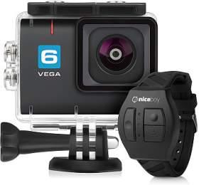 Akční kamera Niceboy® VEGA 6 + dálkové ovládání - Niceboy