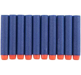 Pěnové náboje 1x7cm 10ks v sáčku 2 barvy - Teddies