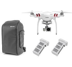 DJI kvadrokoptéra - dron, Phantom 3 Standard, 2 baterie navíc, Incase DJI Phantom Pro Pack (DJI0326BC) - DJI