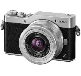 Digitální fotoaparát Panasonic Lumix DC-GX800 + 12-32mm stříbrný (DI-4KGX800S) - Panasonic