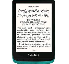 E-book POCKETBOOK 627 Touch Lux 4, Emerald - PocketBook