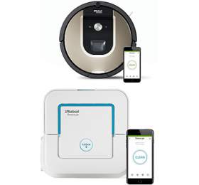 SET iRobot Roomba 966 + iRobot Braava jet 240 - iRobot