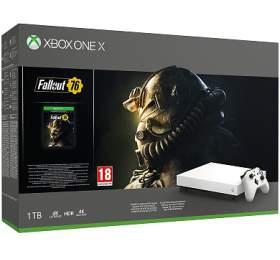 XBOX ONE X 1 TB + Fallout 76 (Speciální edice) (FMP-00057) - Microsoft