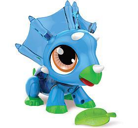 Build a Bot dinosaurus/robot sada plast 20ks na baterie v krabici 30x28x5,5cm - TM Toys