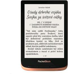 E-book POCKETBOOK 632 Touch HD 3, Spicy Copper, 16GB - Pocket Book