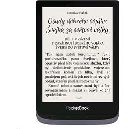 E-book POCKETBOOK 632 Touch HD 3, Metallic Grey, 16GB - PocketBook