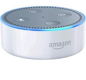 Hlasový asistent Amazon Echo Dot Sandstone (bílý) (2.generace) - AMAZON