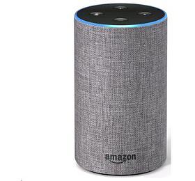 Hlasový asistent Amazon Echo Heather Grey (šedý) (2.generace) - AMAZON