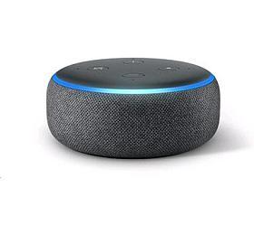 Hlasový asistent Amazon Echo Dot Charcoal (černý) (3.generace) - AMAZON