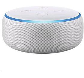 Hlasový asistent Amazon Echo Dot Sandstone (bílý) (3.generace) - AMAZON
