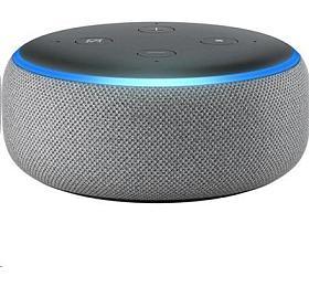 Hlasový asistent Amazon Echo Dot Heather Grey (šedý) (3.generace) - AMAZON