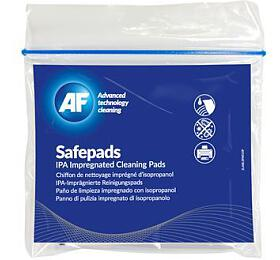 AF Safepads - čistící ubrousky impregnované isopropylalkoholem, 10 ks (SPA010) - AF