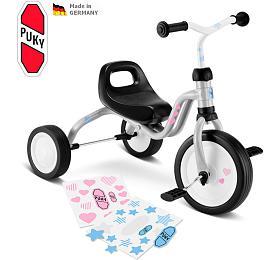 Dětská tříkolka PUKY Fitsch, šedá - PUKY