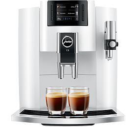 Espresso JURA IMPRESSA E8 Piano White - Jura