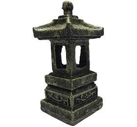 Dekorace do akvária - Pagoda Duvo+ 5 x 5 x 11 cm - Duvo+