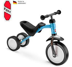 Dětské tříkolé odstrkovadlo PUKYMOTO, modrá - PUKY