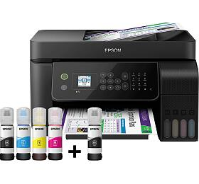 Epson L5190, A4, Wi-Fi All-in-One Ink Printer (C11CG85403) - Epson