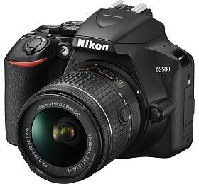 Fotoaparát Nikon D3500 + 18-55mm VR BLACK (VBA550K001) - Nikon