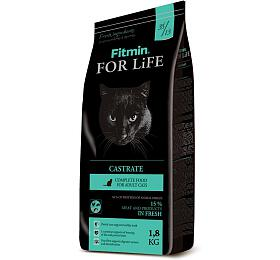 Fitmin cat For Life Castrate - 1,8 kg - FITMIN