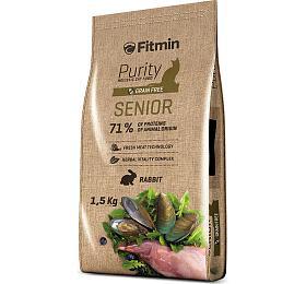 Fitmin cat Purity Senior - 1,5 kg - FITMIN