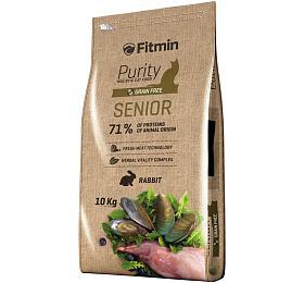 Fitmin cat Purity Senior - 10 kg - FITMIN
