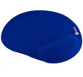 Podložka pod myš gelová C-TECH MPG-03, modrá, 240x220mm - C-Tech
