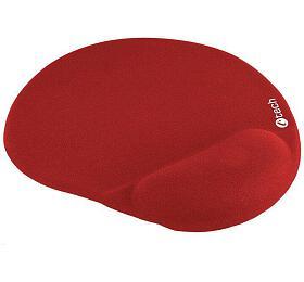 Podložka pod myš gelová C-TECH MPG-03, červená, 240x220mm - C-Tech