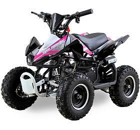 Dětská čtyřkolka 49 ccm Ultimate Monster E-start růžová Nitro motors - Nitro motors