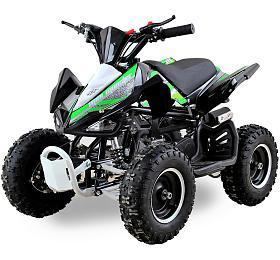 Dětská čtyřkolka 49 ccm Ultimate Monster E-start zelená Nitro motors - Nitro motors