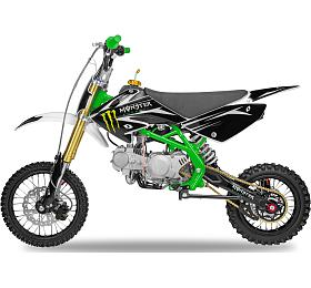 Pitbike 125cc Ultimate Thunder 14x12 zelená Ultimate Racing - Ultimate Racing