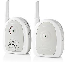 Nedis BAMO111AUWT - Audio Dětská Chůvička | 2,4 GHz - NEDIS