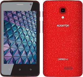 Aligator S4090 Duo, červená (AS4090RD) - Aligator Phones