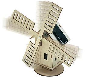 Solární stavebnice Větrný mlýn CONRAD - Conrad