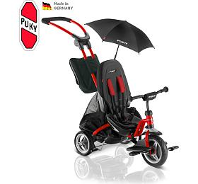 Dětská tříkolka PUKY CAT S 6 City Premium, červená - PUKY