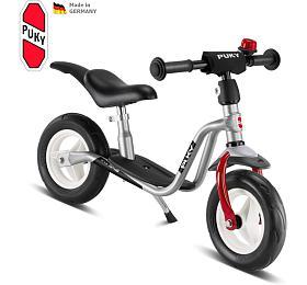 Odrážedlo PUKY Learner Bike medium LR M PLUS, stříbrná/červená - PUKY