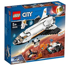 Raketoplán zkoumající Mars - LEGO