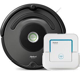iRobot Roomba 676 + Braava jet 240 - iRobot