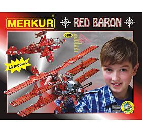 Stavebnice MERKUR RED BARON - Merkur