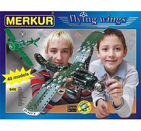 Stavebnice MERKUR FLYING WINGS - Merkur