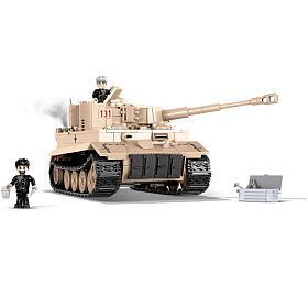 Stavebnice COBI 2519 Small Army II WW Tiger I nr 131, 550 k, 2 f - COBI