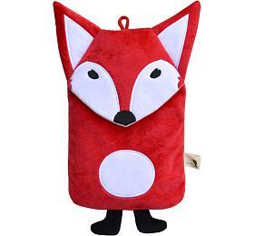 Dětský termofor Hugo Frosch Eco Junior Comfort s motivem červené lišky - HUGO-FROSCH