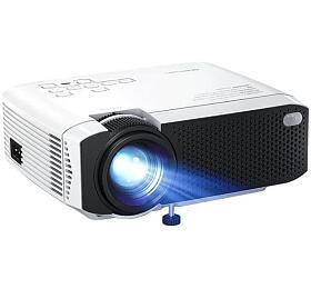 APEMAN Projektor LC350, 1080P full HD, 80 ANSI/3500 LED lumenů, repro - Apeman