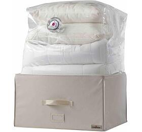 Compactor 2.0. vakuový úložný box s vyztuženým pouzdrem - XL 150 litrů, 55 x 40 x 30 - Compactor