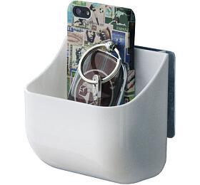 Oblý nástěnný organizér Compactor Hang IT - malý, samolepicí systém bez vrtání - Compactor
