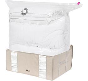 Compactor Life 2.0. vakuový úložný box s pouzdrem - XXL 210 litrů, 65 x 50 x 27 cm - Compactor