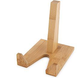 Držák na tablet Compactor Bamboo z bambusového dřeva - 9 x 12 x 13 cm - Compactor