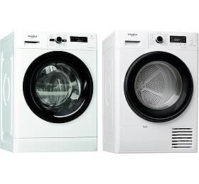 SET Pračka Whirlpool FWF71483B EE + Sušička Whirlpool FT M11 82B EE FreshCare - Whirlpool